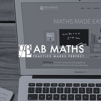 AB Maths Website design
