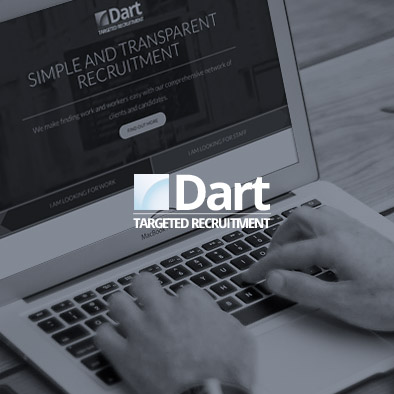 Dart Recruitment Website design