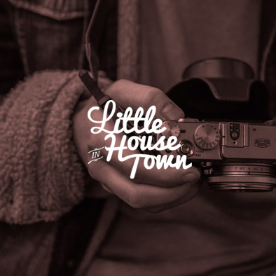 Little House in Town Website design