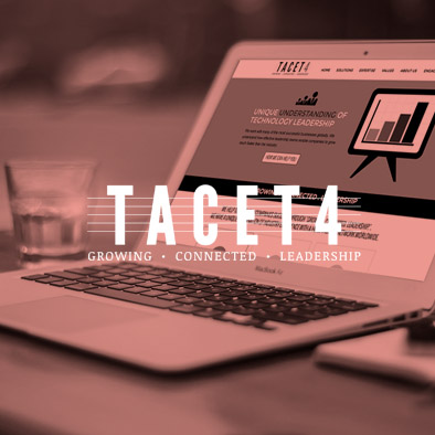 Tacet 4 Website design