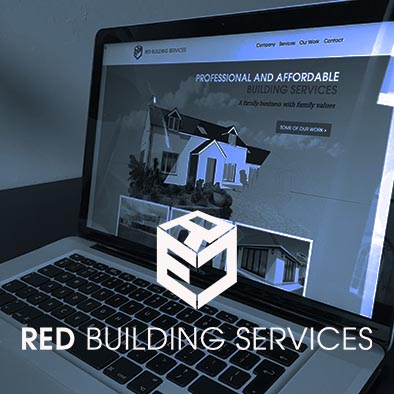 RED Building Services Website design
