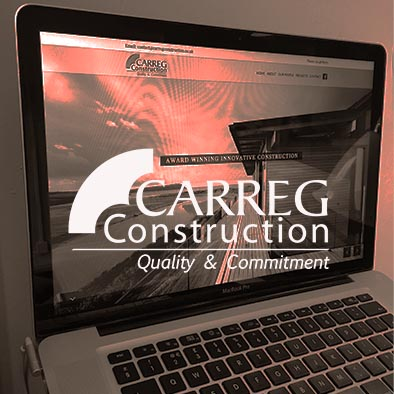 Carreg Construction Website design